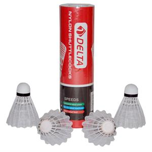 Delta Fast Speed 6 Adet Badminton Topu BT-3000