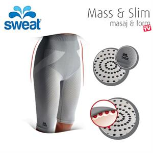 Sweat Mass ve Slim Zayıflama ve Anti-Selülit Form Korsesi