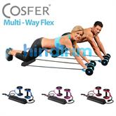 Cosfer Multi-Way Exercise Wheel Kar�n Egzersiz Aleti LS-3370