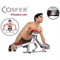 Cosfer Easy Push Up 3 Kademe Ayarl� ��nav �ekme ve Egzersiz Aleti