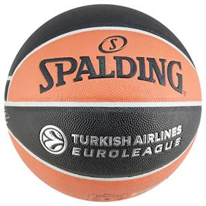 Spalding TF-150 EuroLeague Basketbol Topu Turkish Airlines Euro-Turk N7