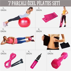 7 Par�al� �zel Pilates Seti HND-PS7