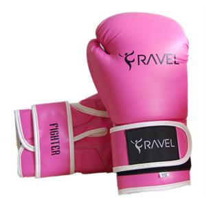 Ravel Fighter Pembe Boks Eldiveni