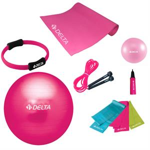 Delta Ultimate New Collection Fuşya Pilates Seti