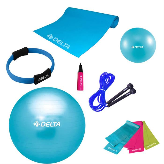 Delta Ultimate New Collection Turkuaz Pilates Seti
