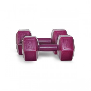 DYNAMIC FASHION PLASTIC DUMBBELL MOR 6KG