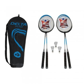 Delta Çantalı Badminton Set * 4 Raket + 3 Top DS908