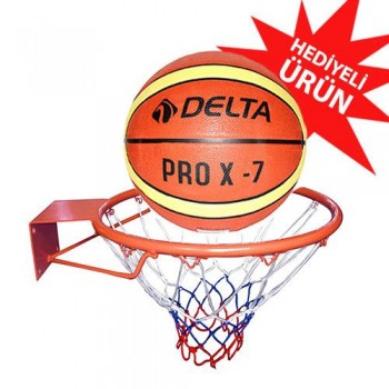 Delta Pro Basketbol Çemberi (Top Hediyeli) DS1602