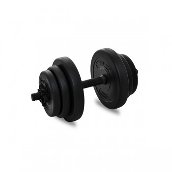 DYNAMIC VINYL DUMBBELL SET 10KG