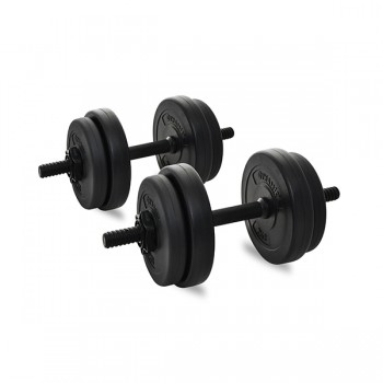 DYNAMIC VINYL DUMBBELL SET 15KG
