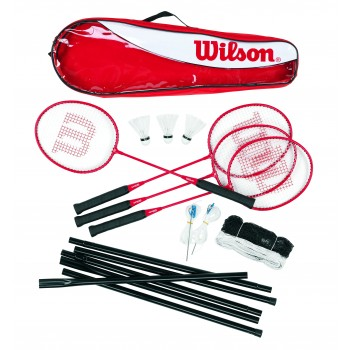 Wilson Badminton Seti Tour Stl Poles 4 PC KIT 3 (WRT8444003)